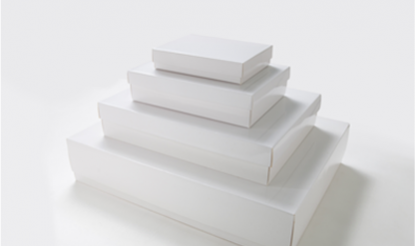 Ready-made White Gift Boxes